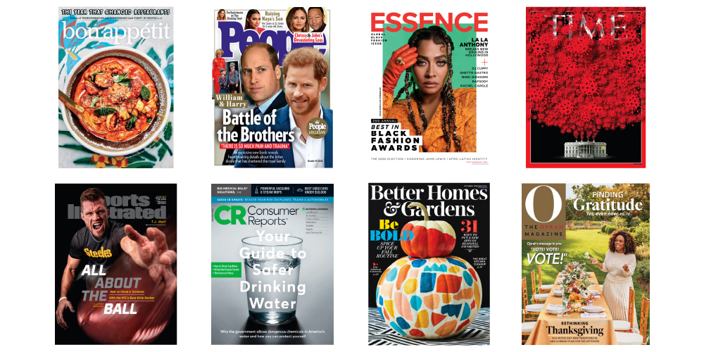 Magazine titles available on Flipster